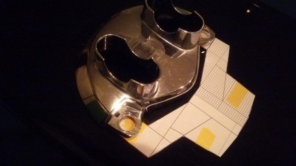 アルミ板からヘッドライトステーの自作!ハンド二プラーでアルミ板のカット!さて自作は出来るのか!?