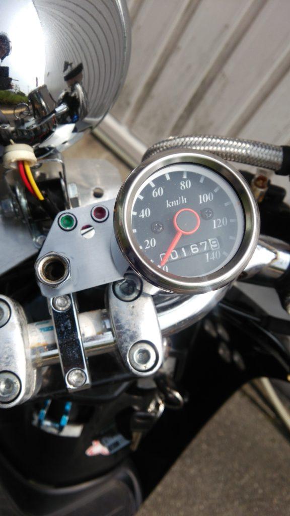 AF61トゥデイ!LEDミニスピードメーターに交換