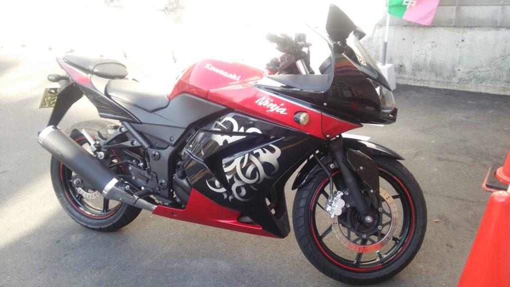 Ninja250Rというバイク!その1