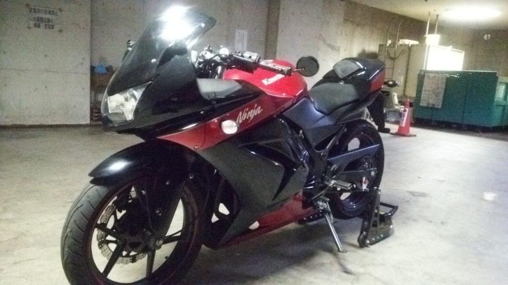 Ninja250Rというバイク!その2
